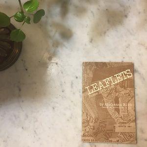 Leaflets, Poems 1965-1968